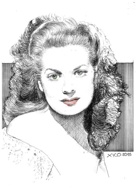 Maureen O'Hara por FCARLOS